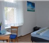 Doppelzimmer mit Gemeinschaftsbad