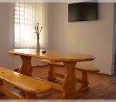 Tisch im Familienzimmer